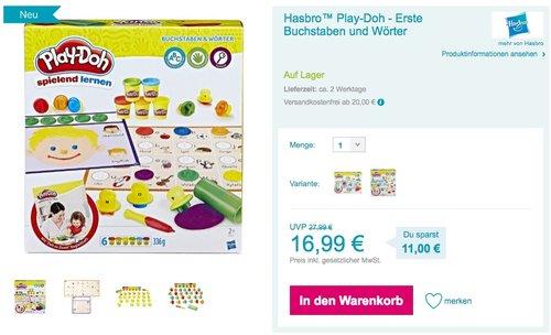 Hasbro Play-Doh Erste Buchstaben und Wörter - jetzt 9% billiger