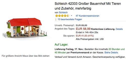 Schleich 42333 Großer Bauernhof - jetzt 16% billiger