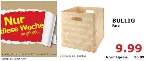 IKEA BULLIG Box - jetzt 41% billiger