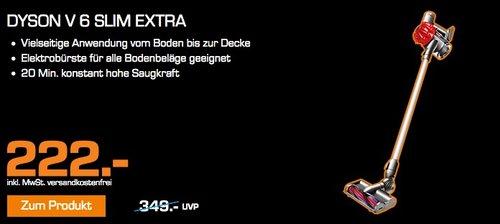 Dyson V6 Slim Extra Handstaubsauger  - jetzt 33% billiger