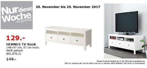 IKEA HEMNES TV-Bank - jetzt 13% billiger
