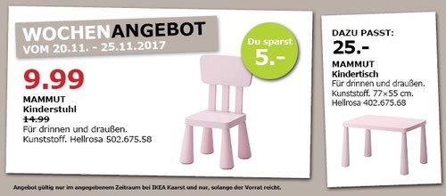 IKEA MAMMUT Kinderstuhl - jetzt 33% billiger