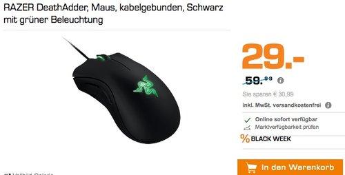 Razer DeathAdder - Ergonomische Gaming Maus - jetzt 31% billiger