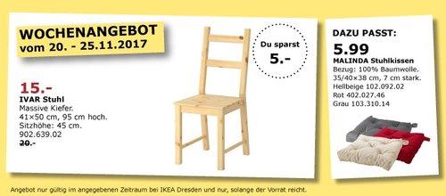IKEA IVAR Stuhl - jetzt 25% billiger