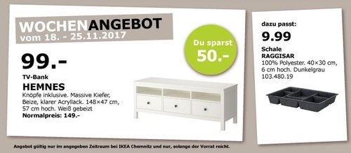IKEA HEMNES TV-Bank  - jetzt 34% billiger
