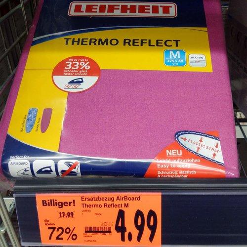Leifheit Ersatzbezug Air Board Thermo Reflect M - jetzt 72% billiger