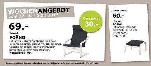 IKEA POÄNG Sessel - jetzt 30% billiger