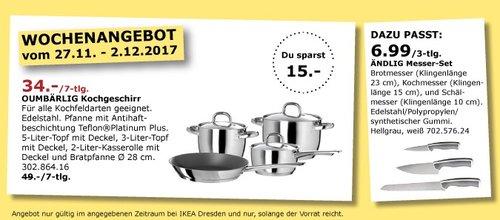 IKEA OUMBÄRLIG Kochgeschirr - jetzt 31% billiger