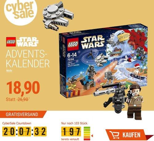 LEGO Star Wars 75184 - Adventskalender - jetzt 21% billiger