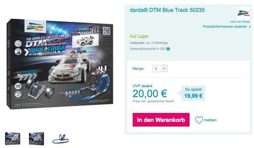 Darda 50235 DTM Blue Track - jetzt 33% billiger