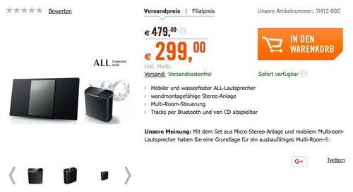 Panasonic SC-ASC02EG Multiroom Kombi-Paket - jetzt 16% billiger