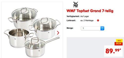 WMF Topfset Grand 7-teilig - jetzt 18% billiger