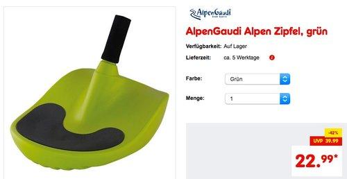 AlpenGaudi AlpenZipfel - jetzt 15% billiger