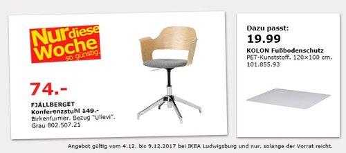 IKEA FJÄLLBERGET Konferenzstuhl  - jetzt 50% billiger