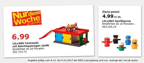 IKEA LILLABO Tankstelle mit Abschleppwagen - jetzt 46% billiger