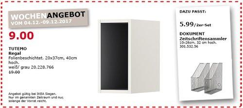 IKEA TUTEMO Regal - jetzt 53% billiger