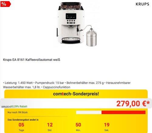 Krups EA 8161 Kaffeevollautomat - jetzt 14% billiger