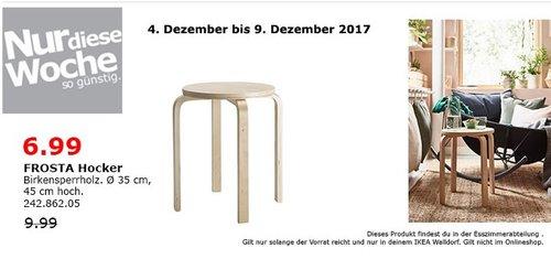 IKEA FROSTA Hocker - jetzt 30% billiger