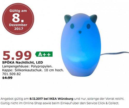 IKEA SPÖKA Nachtlicht - jetzt 60% billiger