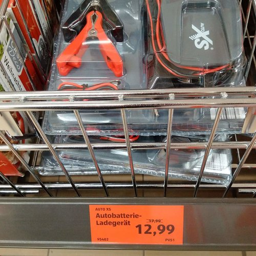 AUTO XS Autobatterie - Ladegerät  - jetzt 28% billiger
