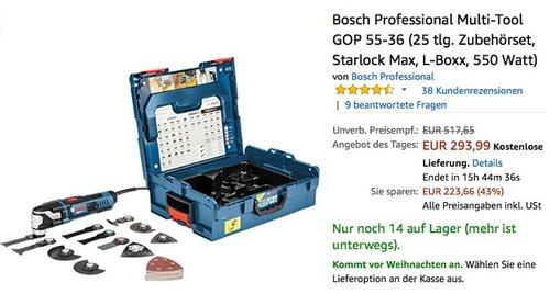 Bosch Professional GOP 55-36 - jetzt 11% billiger