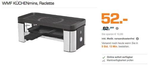 WMF Küchenminis Raclette - jetzt 12% billiger