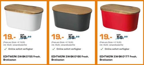 """Echtwerk """"Fresh"""" Brotkasten - jetzt 46% billiger"""