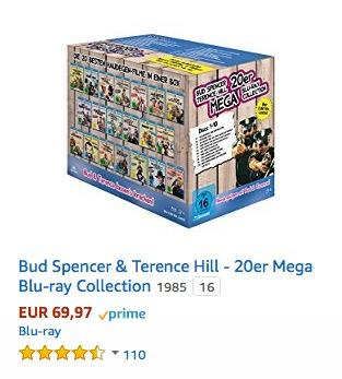 Bud Spencer & Terence Hill - 20er Mega Blu-ray Collection - jetzt 15% billiger