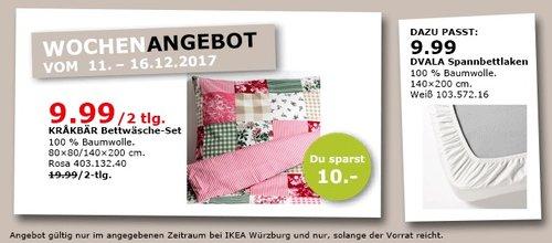 IKEA KRAKBÄRBettwäscheset - jetzt 50% billiger