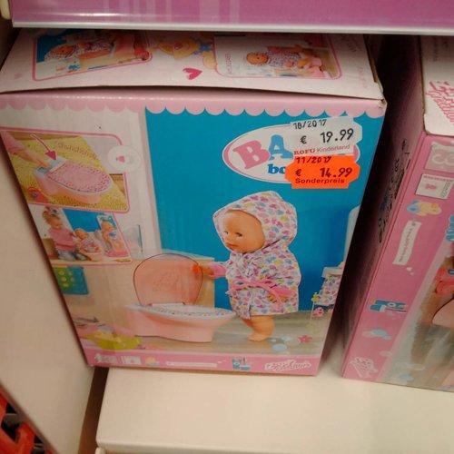 Zapf Creation 823903 - Baby Born Lustige Toilette - jetzt 25% billiger