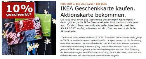 IKEA 10% geschenkt - jetzt 10% billiger