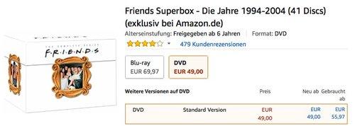 Friends Superbox - Die Jahre 1994-2004 - jetzt 39% billiger