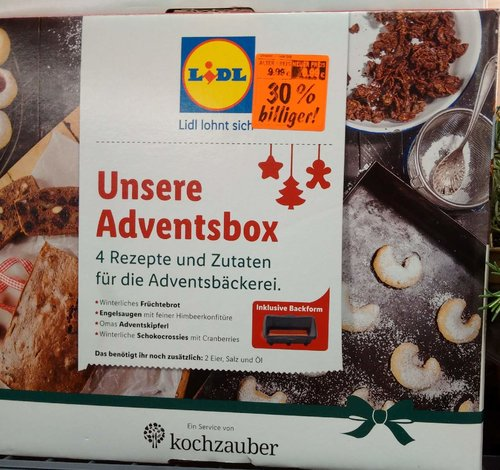 Unsere Adventbox - jetzt 30% billiger