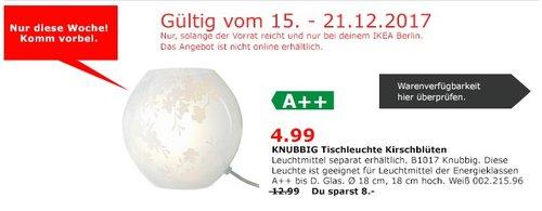 IKEA KNUBBIG Tischleuchte  - jetzt 62% billiger