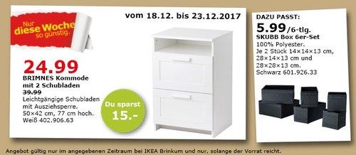 IKEA BRIMNES Kommode - jetzt 38% billiger