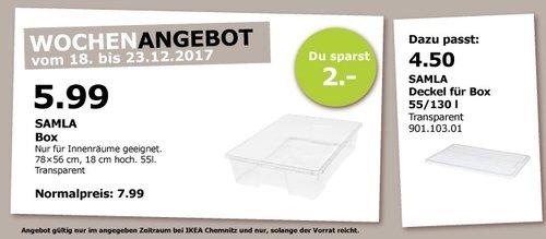IKEA SALMA Box - jetzt 25% billiger