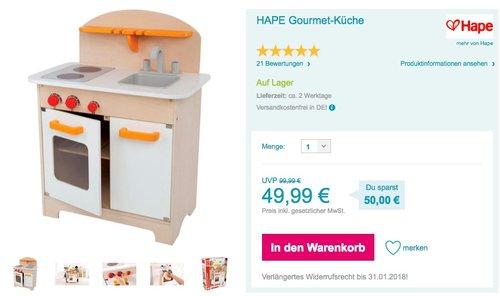 HAPE Gourmet-Küche - jetzt 33% billiger