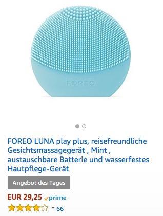 FOREO LUNA play plus - jetzt 27% billiger