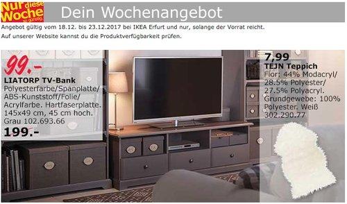 IKEA LIATORP TV-Bank - jetzt 50% billiger