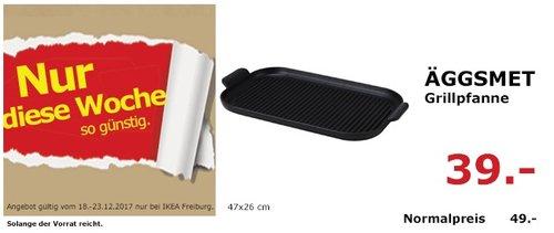 IKEA ÄGGSMET Grillpfanne - jetzt 20% billiger