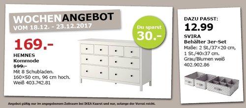 Ikea Hemnes Kommode Fur 169 00 15
