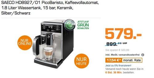 SAECO HD8927/01 PicoBaristo Kaffeevollautomat - jetzt 12% billiger