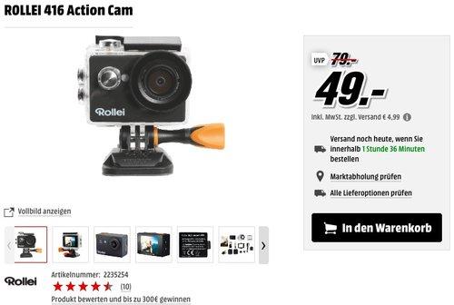 ROLLEI 416 Action Cam - jetzt 18% billiger