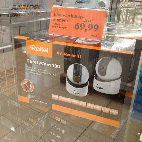 Rollei SafetyCam 100 - jetzt 30% billiger
