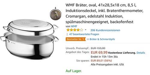 WMF Bräter oval - jetzt 18% billiger