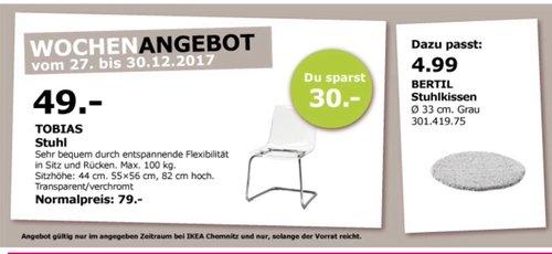IKEA TOBIAS Stuhl  - jetzt 38% billiger
