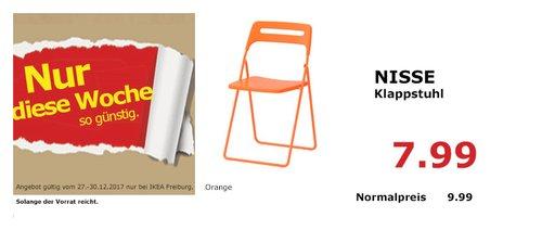 IKEA NISSE Klappstuhl - jetzt 20% billiger