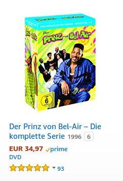 Der Prinz von Bel-Air – Die komplette Serie - jetzt 33% billiger