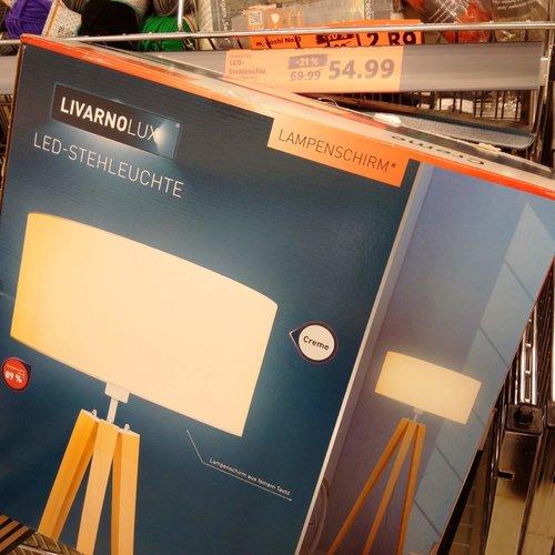 LIVARNOLUX LED-Stehleuchte - jetzt 20% billiger