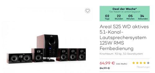 Areal 525 WD 5.1 Surround Sound System - jetzt 19% billiger